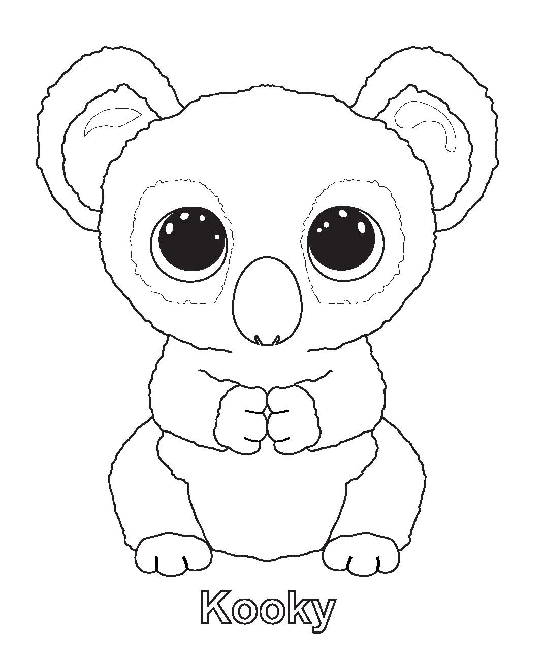 Ty Art Gallery And The Coloring Page